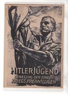 Nr.  4058,  Hitlerjugend, Karte Ist Einlaminiert!!! - Guerra 1939-45
