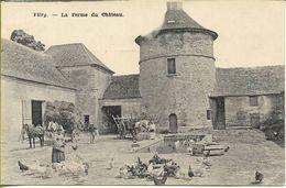 VITRY  La Ferme Du Chateau (vue Animée De La Basse-cour) - Vitry Sur Seine