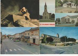 LR70 / Lot D'environ 1340 CPA, CPSM, CPM Du MAINE ET LOIRE (voir Déscriptif) - Postcards
