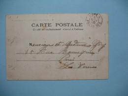 "CPA  Indochine  - 1905  Cachet Maritime : Ligne N Paq.FR.N°3 - Escadre De L'Indo-Chine  "" Redoutable "" - Vietnam"