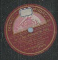 """78 Tours - MAURICE CHEVALIER  - GRAMOPHONE 8210  """" AH! SI VOUS CONNAISSIEZ MA POULE """" + """" UN P'TIT AIR """" - 78 Rpm - Gramophone Records"""