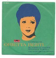 ORIETTA BERTI - QUANDO L'AMORE DIVENTA POESIA - SANREMO 1969 - Vinyl Records