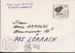 3259  Carta Kassel 1981 , - [7] República Federal