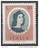 """1350 Italia 1974  """" Autoritratto """" - Quadro Dipinto Da Raffaello. Paintings Tableaux Nuovo MNH - Art"""