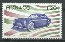 MONACO , 1.20 Fr , Evolution Des Lignes De L'automobile , Cisitalia 1946 , 1975 , N° YT 1026 , NEUF ** - Monaco