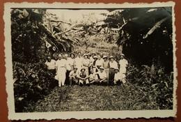Old Natzi Faschio Photo 1941. Svastika Italian Trupe Duchessa D'Osta Italy WW II Golfo Di Guinea West Africa RR - Photography