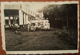 #3 Old Natzi Faschio Photo 1941. Svastika Italian Trupe Duchessa D'Osta Italy WW II Golfo Di Guinea West Africa RR - Photography