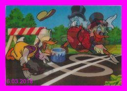 Théme Walt Disney * Carte Vision Relief *  Ps 222 Final Trafic Signal    ( Voir Scans Recto-Verso ) - Sonstige
