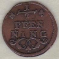 Würzburg – Bistum . ½ Pfennig ND, Franz Ludwig Von Erthal , Sup/XF - [ 1] …-1871 : German States