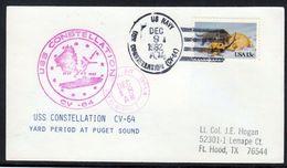 "US Navy, USS""CONSTELLATION"" (CV-64 ) Puget Sound ,LOW PRICE !! Look Scan, RARE !! 2.3-32 - Boten"
