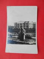 SVERDLOVSK 1930x Fountain On The Square. Russian Photo Postcard. - Rusia
