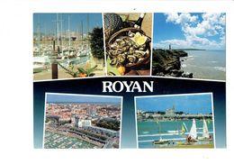 Cpm - 17 - ROYAN - Multivues Plateau Fruits De Mer Huîtres - Villeneuve-sur-Yonne