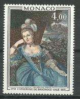 MONACO , 4 Frs , Princesse De Monaco , Catherine De Brignole-Sale , 1975 , N° YT 1030 , NEUF ** - Monaco
