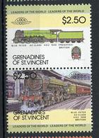 TRAINS - 1984 -  GRENADINES OF ST. VINCENT  - Mi. Nr. 298+299 -  NH -  (UP.70.39) - St.Vincent E Grenadine