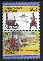 TRAINS - 1984 -  GRENADINES OF ST. VINCENT  - Mi. Nr. 328/29 -  NH -  (UP.70.39) - St.Vincent E Grenadine