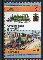 TRAINS - 1984 -  GRENADINES OF ST. VINCENT  - Mi. Nr. 334/35 -  NH -  (UP.70.39) - St.Vincent E Grenadine