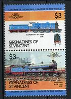 TRAINS - 1984 -  GRENADINES OF ST. VINCENT  - Mi. Nr. 338/39 -  NH -  (UP.70.39) - St.Vincent E Grenadine