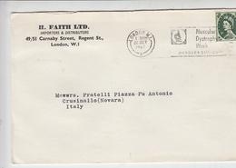 GRAN BRETAGNA  1967  - Annullo Meccanico - Distrofia Muscolare - Malattie