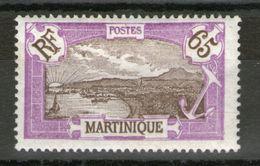 N° 122*_ - Martinique (1886-1947)