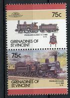 TRAINS - 1986 -  GRENADINES OF ST. VINCENT  - Mi. Nr. 464/65 -  NH -  (UP.70.40) - St.Vincent E Grenadine