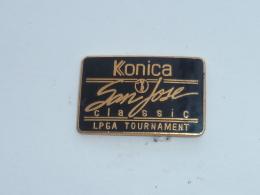 Pin's GOLF TROPHEE SAN JOSE CLASSIC, KONICA - Golf