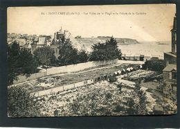 CPA - SAINT CAST - Les Villas De La Plage Et La Pointe De La Corbière - Saint-Cast-le-Guildo