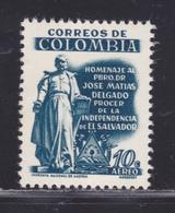 COLOMBIE AERIENS N°  300 ** MNH Neuf Sans Charnière, TB (D5601) Monument De José-Matias Delgado - Colombie