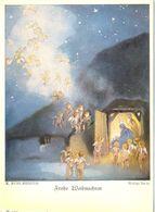 Allemagne - Carte De Voeux De Noël - Ecrite, Timbrée - 5167 - Germania