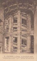 Cp , 41 , CHAMBORD , Le Château , Le Grand Escalier Double - Chambord