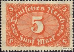 Deutsches Reich 194a Postfrisch 1921 Markwerte WZ 2 - Deutschland