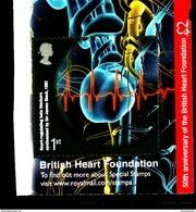 GREAT BRITAIN - 2011  1st CLASS  BRITISH HEART  FOUNDATION  EX  BOOKLET   MINT NH - 1952-.... (Elisabetta II)