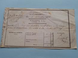 Reçu De M. DE PUY..... HOSPICE D'ISSOIRE - 6 Décembre 1844 ( N° De Journal A Souche : 230 ) ( Voir Photo Svp ) - Lettres De Change