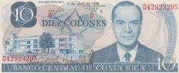 (B0328) COSTA RICA, 1986. 10 Colones. P-237b. UNC - Costa Rica