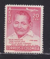 COLOMBIE AERIENS N°  288 ** MNH Neuf Sans Charnière, Petite Tâche, B/TB (D5605) Le Plus Viel Homme Du Monde - Colombie