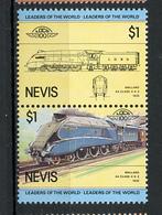 TRAINS - 1983 -  NEVIS  - Mi. Nr. 117/18 -  NH -  (UP.70.40) - St.Kitts E Nevis ( 1983-...)