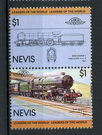 TRAINS - 1983 -  NEVIS  - Mi. Nr. 119/20 -  NH -  (UP.70.40) - St.Kitts E Nevis ( 1983-...)