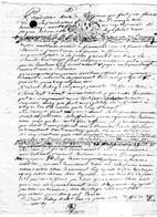 GENERALITE De BRETAGNE 1 SOL 4 D. 1730 - BARONNIES De LA HUNAUDAYE (Val-André) - 1 Feuillet - Cachets Généralité