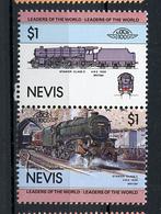 TRAINS - 1983 -  NEVIS  - Mi. Nr. 125/26 -  NH -  (UP.70.40) - St.Kitts E Nevis ( 1983-...)