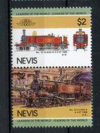 TRAINS - 1985 -  NEVIS  - Mi. Nr. 266/67 -  NH -  (UP.70.40) - St.Kitts E Nevis ( 1983-...)