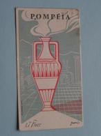 POMPEÏA ( L.T. Piver Paris ) Imp. France ( Voir Photo Svp ) - Cartes Parfumées
