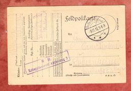Feldpostkarte, Nach Sobernheim 1917 (47770) - Allemagne