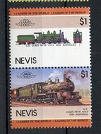 TRAINS - 1984 -  NEVIS  - Mi. Nr. 288/89 -  NH -  (UP.70.40) - St.Kitts E Nevis ( 1983-...)