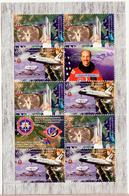 ARTSAKH NAGORNO MOUNTAINOUS KARABAKH ARMENIA 2011 SHUTTLE SPACE USA C)MBO SHEETLET MNH - Stamps