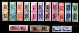 Trieste Colis Postaux YT N° 12A/19 Neufs *. B/TB. A Saisir! - Paketmarken/Konzessionen