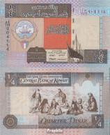 Kuwait Pick-Nr: 23d Bankfrisch 1994 1/4 Dinar - Kuwait