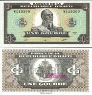 Haiti Pick-Nr: 253a Bankfrisch 1989 1 Gourde - Haïti