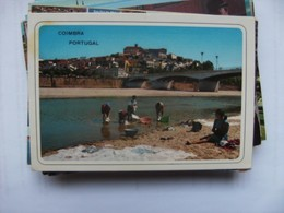 Portugal Coimbra Women Washing - Coimbra