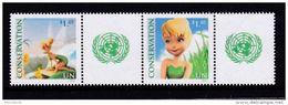 UNO VN ONU New York 2012 Conservation Tinkerbell Pair MNH - Ongebruikt