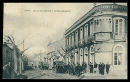VERIN - HOTEIS E RESTAURANTES - Calle De Espada E Hotel Salgado ( Ed.Fototipia  Hauser Y Menet) Carte Postale - Orense