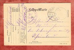 Feldpostkarte, Nach Sobernheim 1917 (47780) - Allemagne